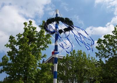 Zum Maibaumfest kommen jedes Jahr rd. 300 Besucher.