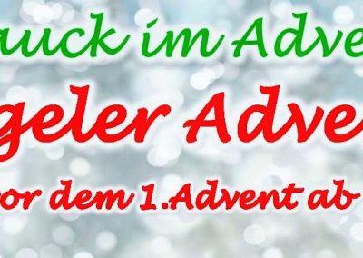Banner Rosenhügeler Adventsmarkt 2017