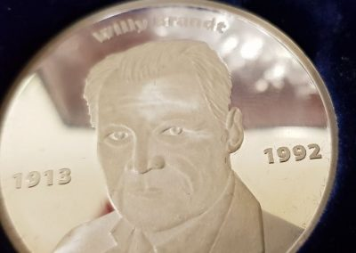 Jubilarehrung 2017 - Willy-Brandt-Medaille