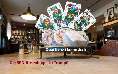 """""""Nächster Quartiers-Stammtisch am kommenden Freitag!"""""""
