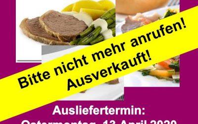 """""""Tafelspitz-Heimservice ist bereits ausverkauft!"""""""