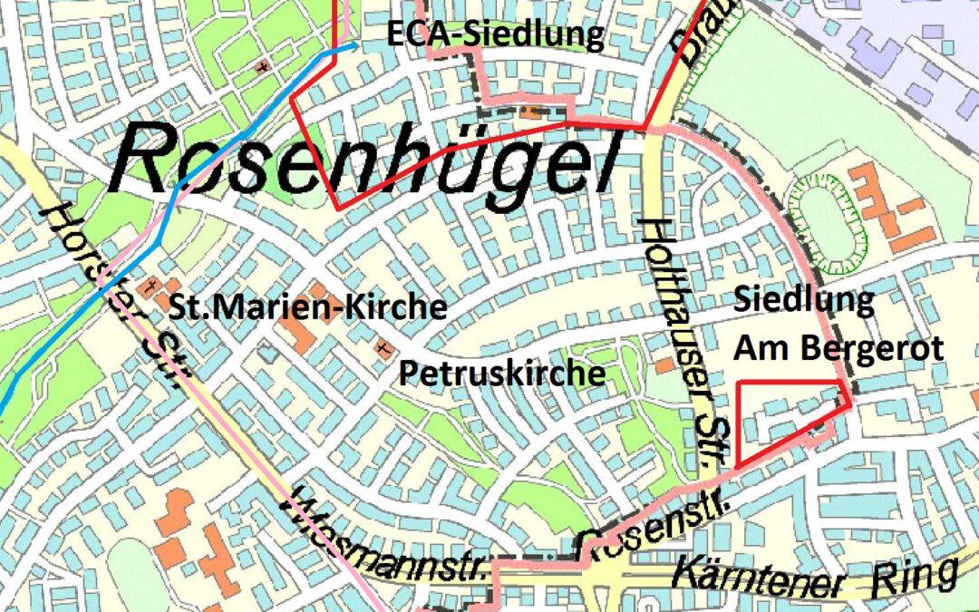 """""""Mit offenen Augen durch Rosenhügel – Ein Spaziergang durch den Stadtteil"""""""