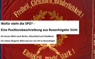 Wofür steht die SPD?
