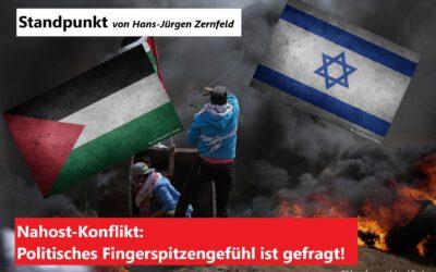 Nahost-Konflikt darf nicht auf deutschem Boden ausgetragen werden!