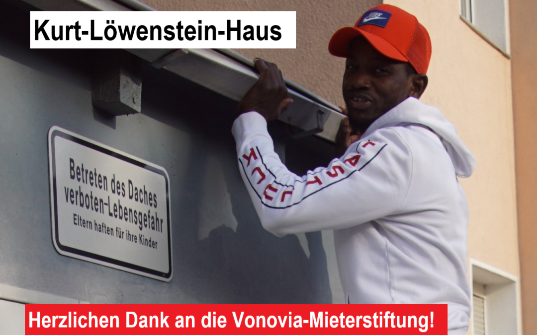 """""""Kurt-Löwenstein-Haus wurde während des Lockdowns saniert!"""""""
