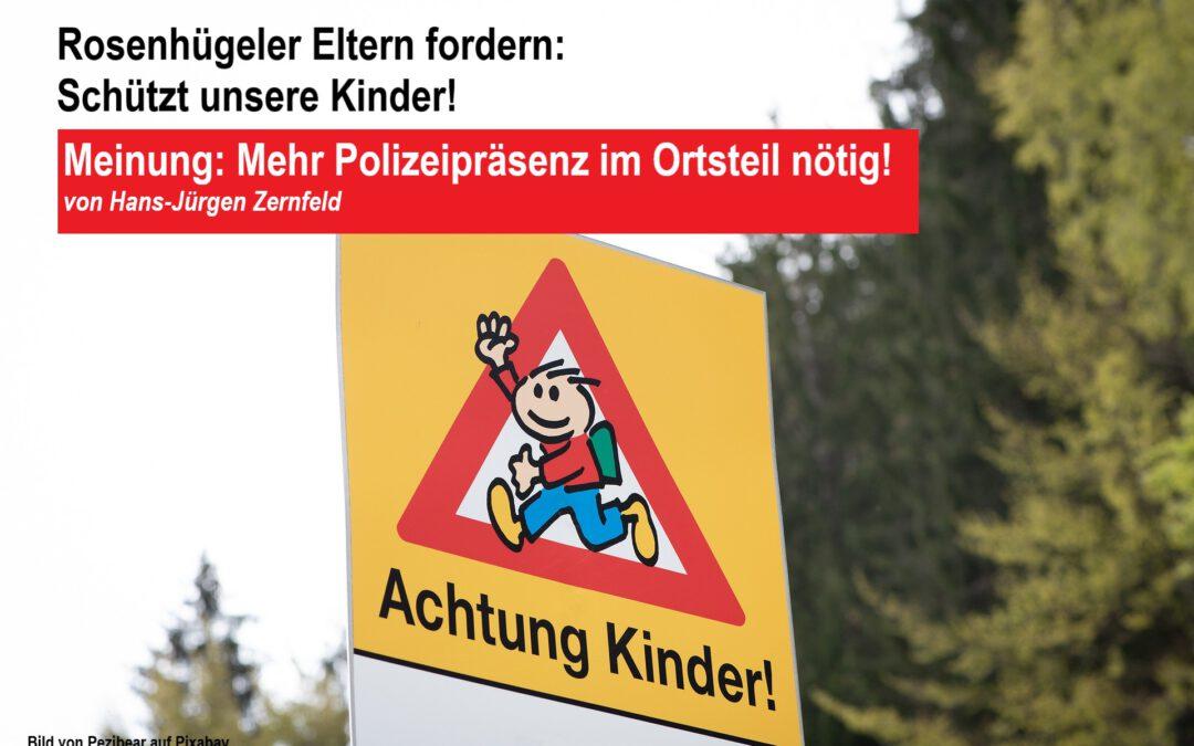 """Meinung: """"Mehr Polizeipräsenz im Ortsteil nötig"""""""