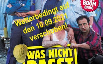 """""""Open-Air-Kino-Event wird wetterbedingt auf den 10.Septemeber verschoben"""""""